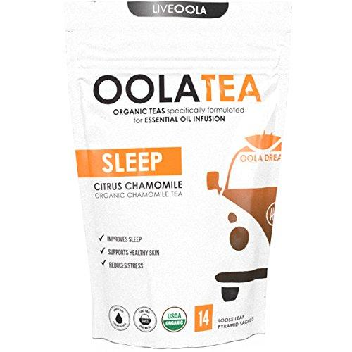 SLEEP 14 Count | Certified Organic Citrus Chamomile | Improves Sleep | Reduces Stress