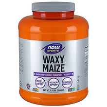 NOW Sports Waxy Maize Powder, 5.5-Pound