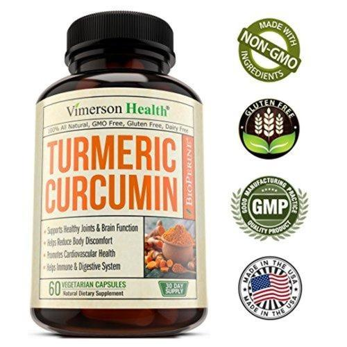 Turmeric Curcumin with Bioperine Joint Pain Relief Supplement Vimerson Health