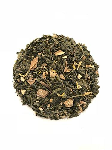 LEAN (Ginger Pineapple Crush) 14 Count | Certified Organic Sencha Green Tea | Increases Metabolism | Appetite Suppressant Food & Drink OolaTea
