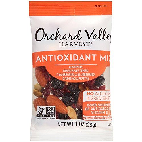ORCHARD VALLEY HARVEST Antioxidant Mix Multi Pack, 1 oz (Pack of 8) Food & Drink Orchard Valley Harvest