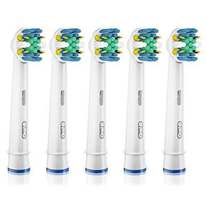 Oral-B Floss Action Electric Toothbrush Replacement Brush Heads Refill, 3 Count Packaging may Vary