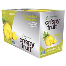 Freeze-Dried Fruits, Non-GMO, Gluten Free, No Sugar Added, Pineapple (12 Count) Food & Drink Crispy Green