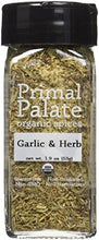 Organic Spices Garlic & Herb, Certified Organic