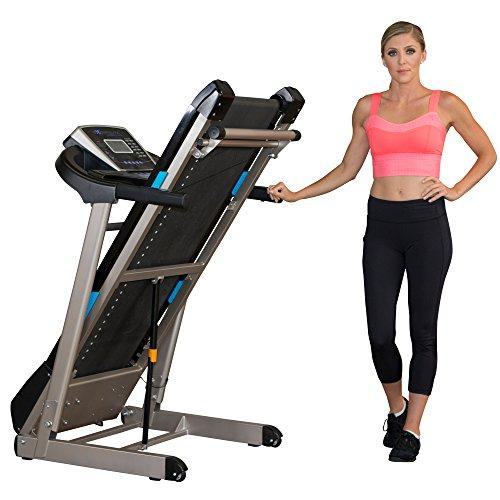 Exerpeutic TF3000 Bluetooth Smart Technology Electric Foldable Treadmill with Free App and Extended Belt Size Sport & Recreation Exerpeutic