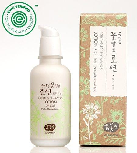 Whamisa Organic Flowers Lotion - Original 120ml - Naturally fermented, EWG Verified