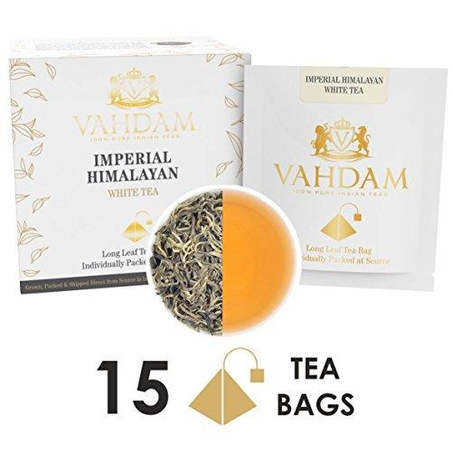 Imperial Himalayan White Tea 15 Tea Bags Food & Drink VAHDAM