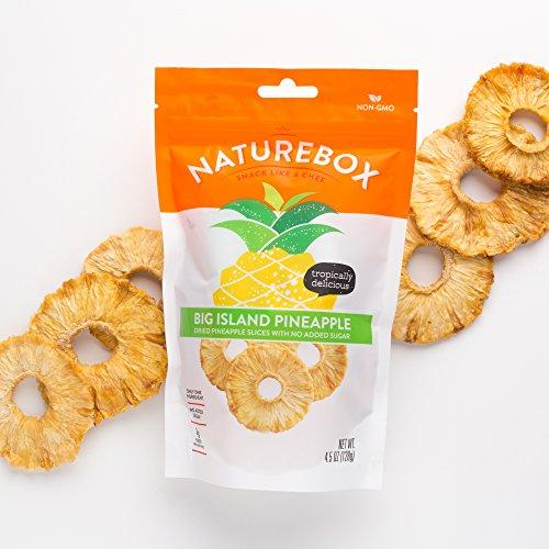 Non-GMO Dried Fruit Sampler (5 bags) - Mango, Pineapple, Cherry, Cranberry, and Blueberry Food & Drink NatureBox