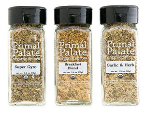 Organic Spices - Everyday AIP Blends 3-Bottle Gift Set