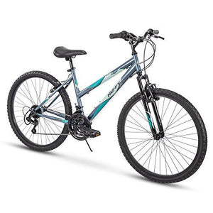 "Huffy 26"" Summit Ridge Womens 21-Speed Hardtail Mountain Bike, Charcoal Gloss"