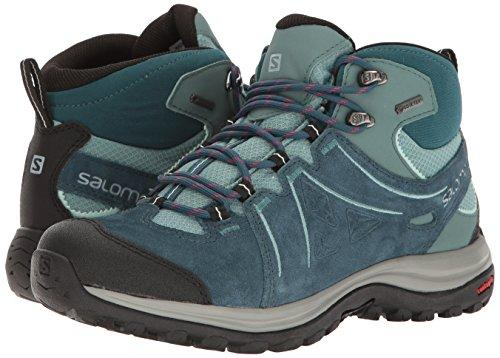 Salomon Women's Ellipse 2 MID LTR GTX W Hiking Boot, Reflecting Pond/Artic/North Atlantic, 6 M US