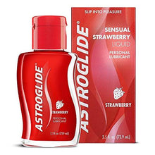 Astroglide Strawberry Liquid, Water Based Personal Lubricant, 2.5 oz.