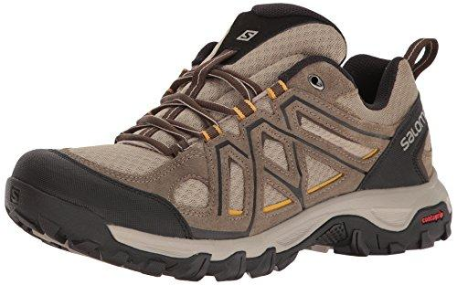 Salomon Men's Evasion 2 AERO Hiking Shoe, Vintage kaki, 9 M US