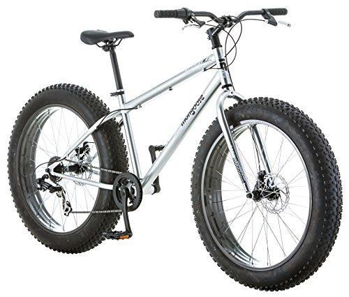 Mongoose Men's Malus Fat Tire Bike, Silver Sport & Recreation Mongoose