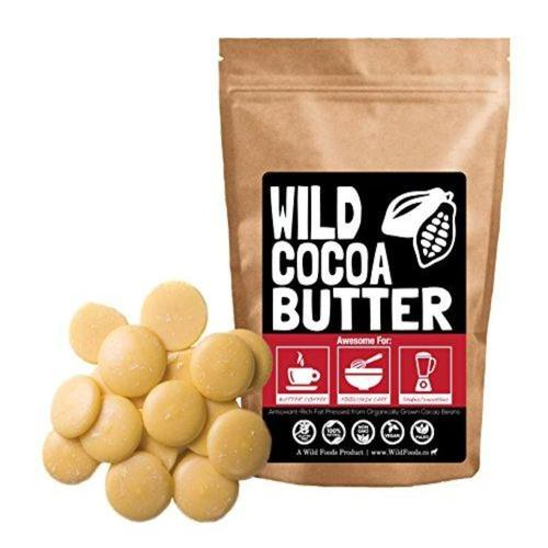 Raw Organic Cocoa Butter Supplement Wild Foods