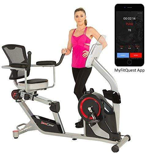 X Class 310SX Bluetooth Smart Technology Magnetic Recumbent Exercise Bike with Free App Sport & Recreation Fitness Reality