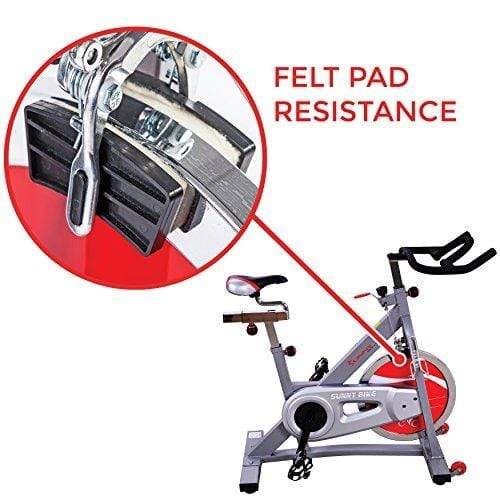 Sunny Health & Fitness SF-B901B Belt Drive Pro Indoor Cycling Bike Sport & Recreation Sunny Health & Fitness