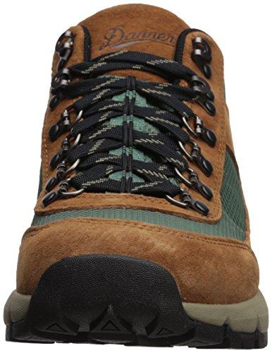 "Danner Men's South Rim 600 4.5"" Hiking Boot, Brown/Teal, 12 D US"