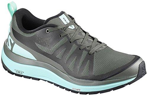 Salomon Odyssey Pro Hiking Shoe - Women's Castor/Eggshell Blue/Black 10
