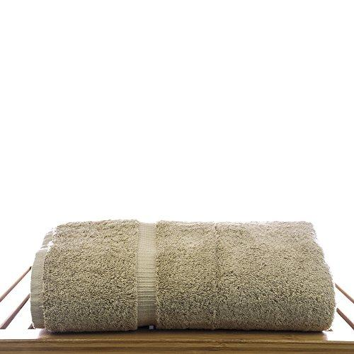 Luxury Hotel & Spa Bath Towel Turkish Cotton, Set of 4 (Driftwood)
