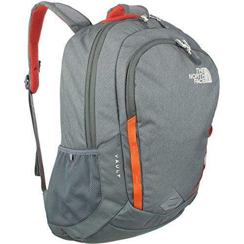 The North Face Women's Vault Backpack - Sedona Sage Grey Light Heather & Nasturtium Orange - OS (Past Season)