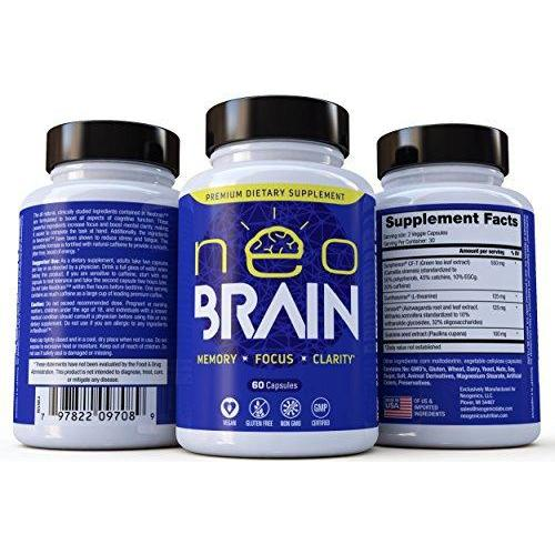 Extra Strength Brain Supplement Supplement Neogenics