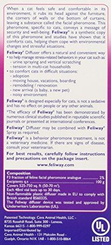 CEVA Animal Health 3002477 Feliway Diffuser Refill Animal Wellness CEVA Animal Health