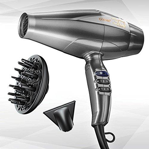 INFINITIPRO BY CONAIR Advanced Brushless Motor Styling Tool/Hair Dryer; Silver