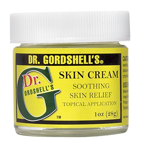 Dr. Gordshell's Skin Cream Soothing Topical Application 1oz Treats Eczema Boils Rashes Bug Bites Itching Burns, and More