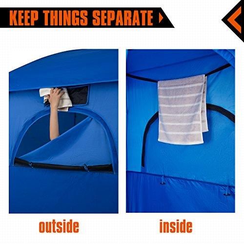 KingCamp Oversize Outdoor Easy Up Portable Dressing Changing Room Shower Privac