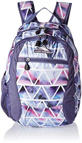 High Sierra Curve Backpack, Dreamscape/Purple Smoke