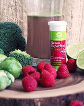 Amazing Grass, Green Superfood Effervescent Electrolytes, Flavor: Watermelon Lime, 60ct Tablets, Alkalizing Green, Hydration with Potassium, Magnesium, and Calcium