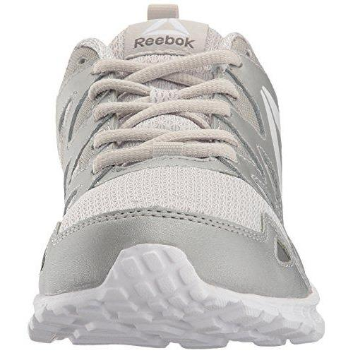 Reebok Women's Run Supreme 3.0 MT Sneaker, Skull Grey/Silver/White, 8.5 M US Shoes for Women Reebok