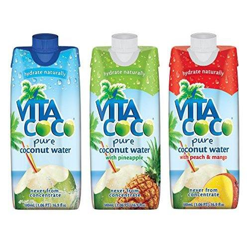 Vita Coco Coconut Water, Variety Pack (Pack of 12) Food & Drink Vita Coco