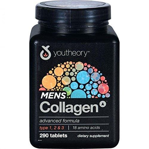 Youtheory Mens Collagen Advanced 1and 3, 290 Count by Youtheory