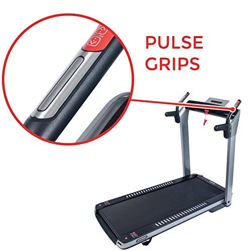 ASUNA SpaceFlex Motorized Running Treadmill with Auto Incline, Wide Treadmill, Space Saving Folding and Walking Treadmill Sport & Recreation Sunny Health & Fitness