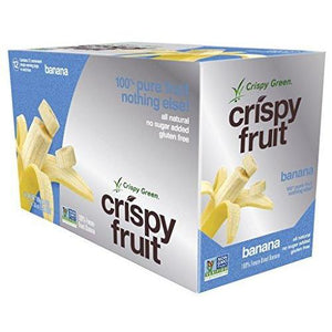 Freeze-Dried Fruits, Non-GMO, Gluten Free, No Sugar Added, Banana (12 Count)