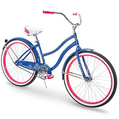Huffy 26 Fairmont Womens Cruiser Bike, Blue, Perfect Fit Frame Sport & Recreation Huffy