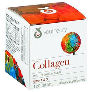 youtheory Collagen Formula 1 and 3, 0.43 Pound ( Multi-Pack)
