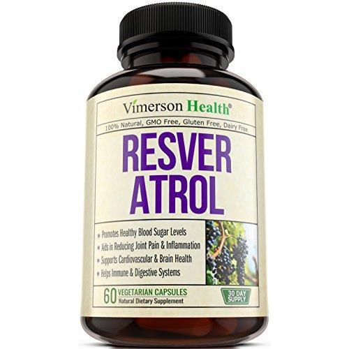 Resveratrol Blend with Japanese Knotweed Supplement Vimerson Health