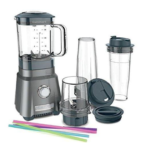 Cuisinart CPB-380 Hurricane Compact Juicing Blender, Gunmetal Kitchen & Dining Cuisinart