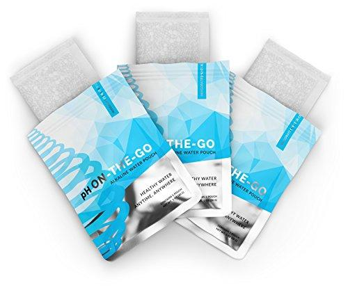 pH ON-THE-GO Alkaline Water Filter Pouch Accessory Invigorated Water