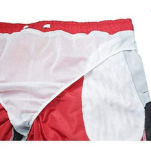 "WUAMBO Men's Swim Trunks Athetic Shorts with Pocket #6 Red US S Waist 29""-31"""