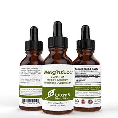 Weightloc Drops Supplement Ultra6 Nutrition