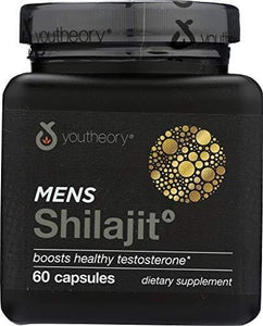 Youtheory (1 Item ONLY) Mens Shilajit, 60 cp