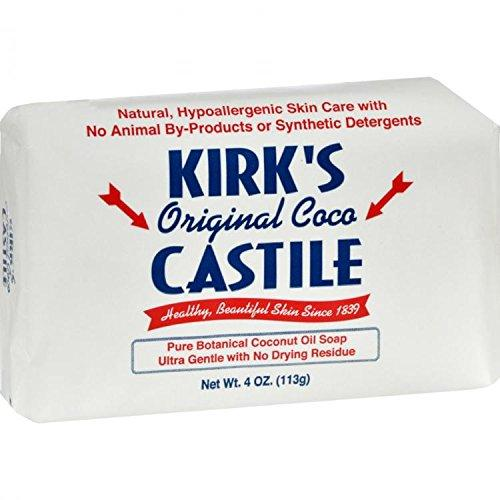 Kirk's Natural Fragrance Free Castile Soap 114 g by Kirk's