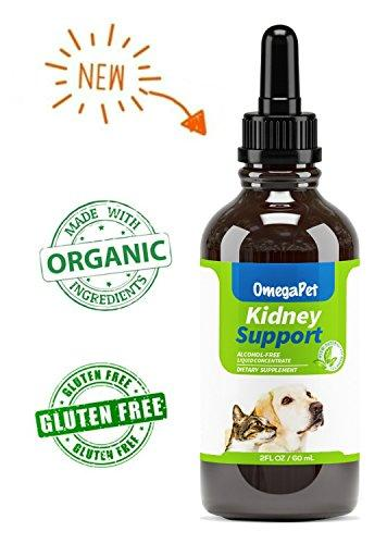 OmegaPet Dog Kidney Support, Kidney Support for Cats and Dogs, Bladder Support for Dogs, Best Natural Pet Kidney Care for Improved Appetite and Energy Animal Wellness OmegaPet