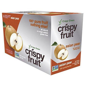 Freeze-Dried Fruits, Non-GMO, Gluten Free, No Sugar Added, Asian Pear (12 Count)