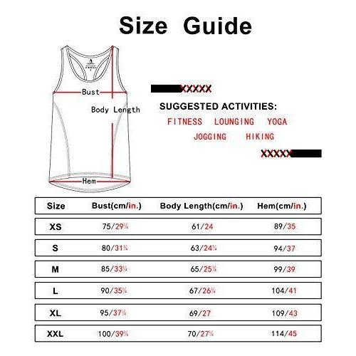 Activewear Running Workouts Clothes Yoga Racerback Tank Tops for Women Activewear icyzone