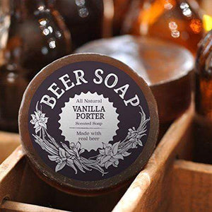 Swag Brewery Beer Soap (Vanilla Porter) - All Natural + Made in USA - Actually Smells Good for Beer Lovers